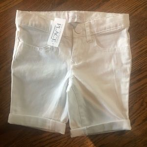 NWT children's place Bermuda shorts sz 4